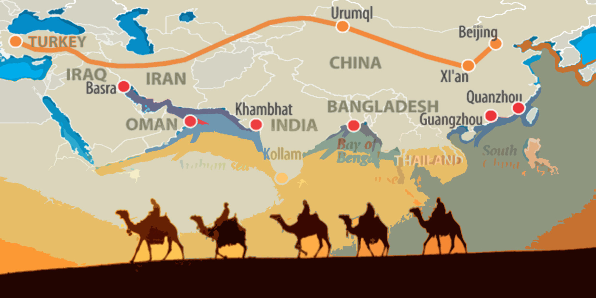 silk roads As we remain isolated in the bubble of our daily lives, and increasingly unengaged with the global society, a new world order is taking shape right under our noses.
